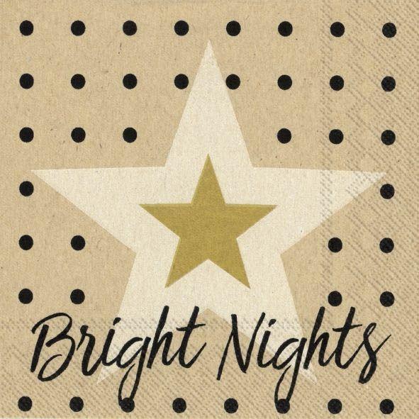 Bright Nights - 20 Cocktail Servietten