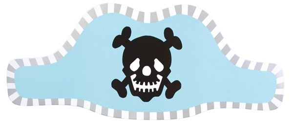 Piraten - 8 Papier Piratenhüte