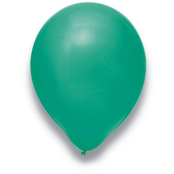 Latexballon Türkis 100 Stück Ø 30cm