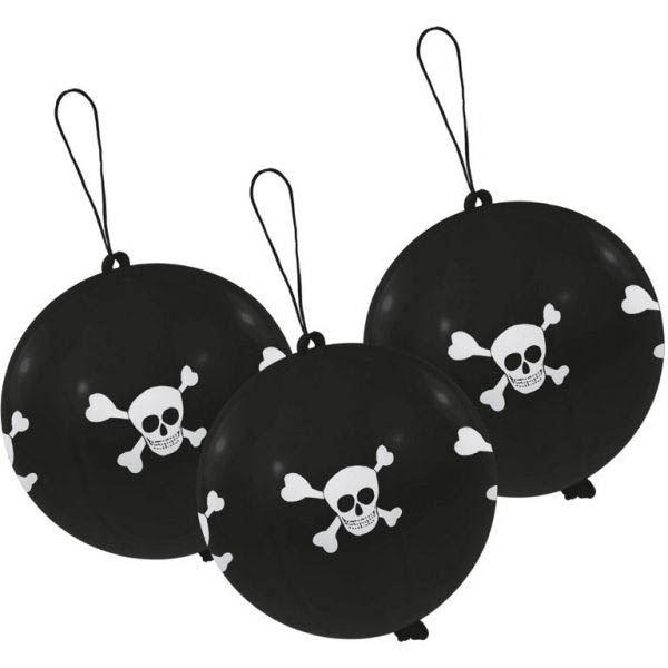 Pirat - Punchingbälle 3 Stück