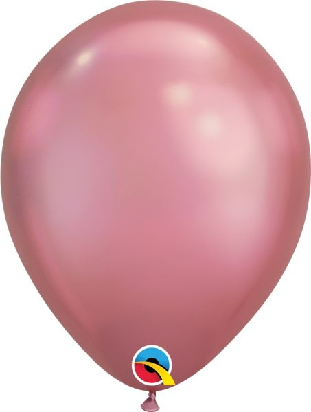 Qualatex Latexballon Chrome Mauve Ø 30cm