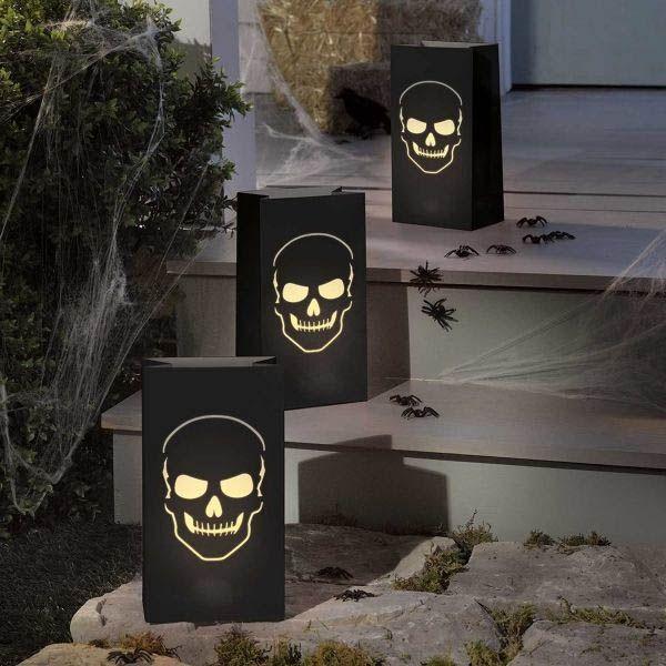 Halloween - 6 Friedhof Lichtertüten