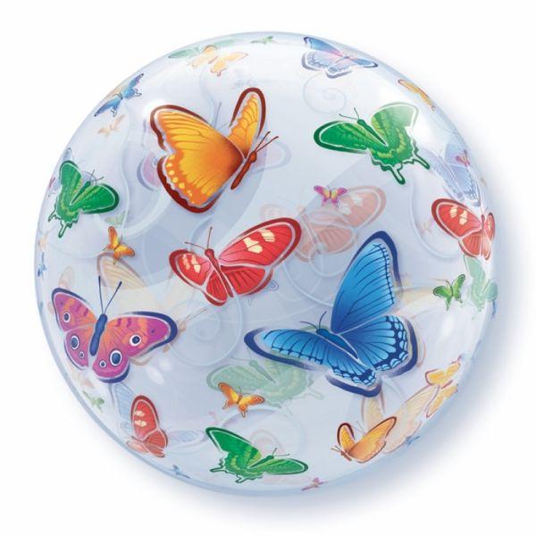 Bubble Ballon Schmetterlinge 56cm