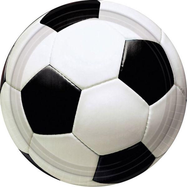 Champion - 8 Fußball-Pappteller