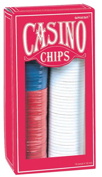 Casino Party - 150 Poker Chips