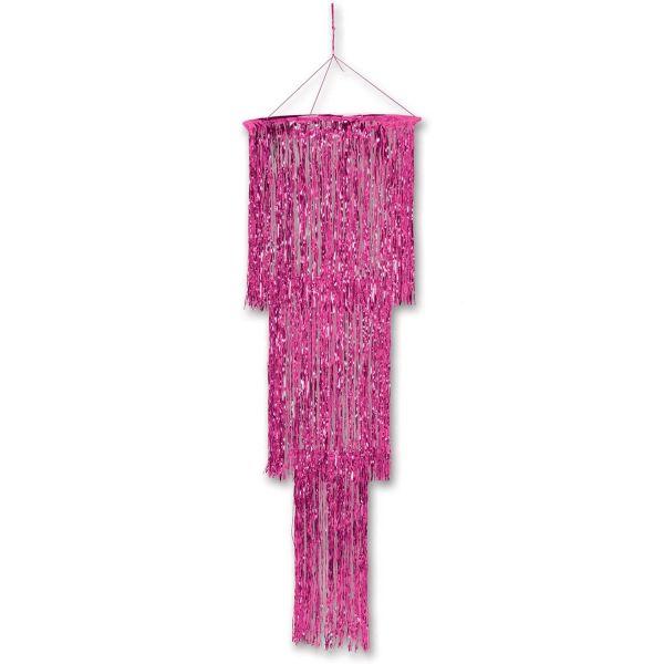 Hängedekoration Chandelier Pink