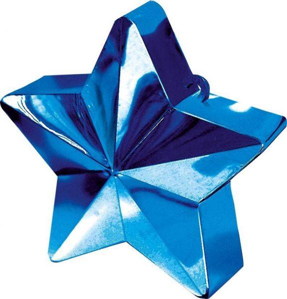 Ballongewicht Stern Blau