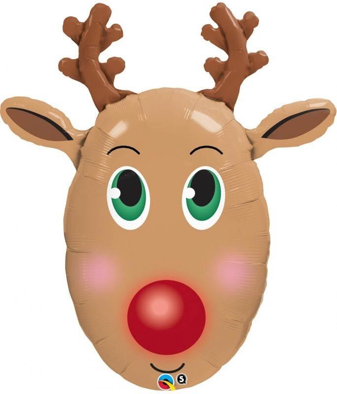 Folienballon Rudolph 61x81 cm | Weihnachten & Silvester | Weitere ...