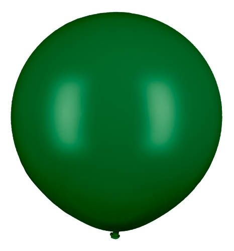 Latexballon Gigant Dunkelgrün Ø 210cm