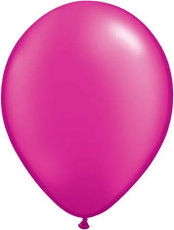 Qualatex Latexballon Pearl Magenta 13cm