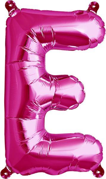 Luftballon Buchstabe E Pink 40cm