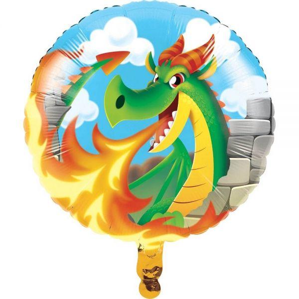 Folienballon Drachen 46cm
