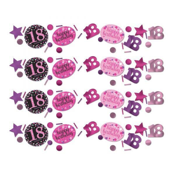 Sparkling Celebration Pink 18. Geburtstag Konfetti 34g