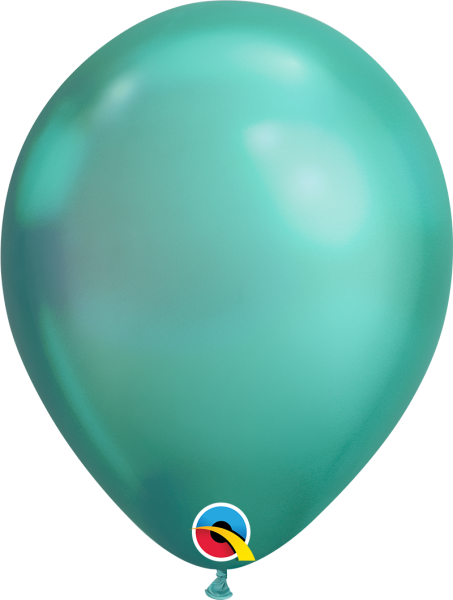Qualatex Latexballon Chrome Green 30cm