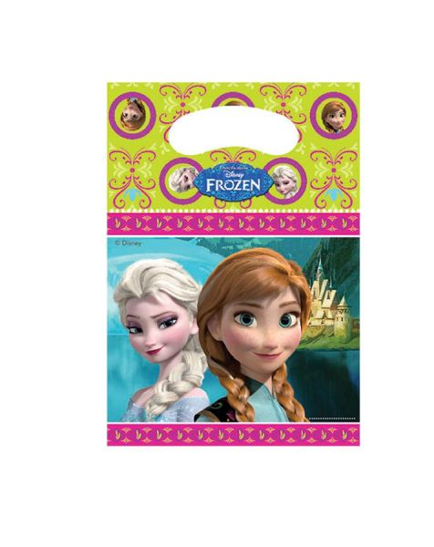Anna & Elsa - 6 Partytüten