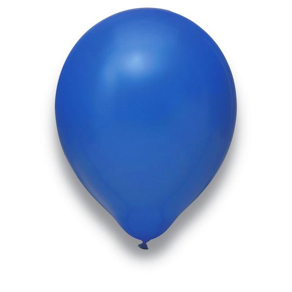 Latexballons Blau 100 Stück Ø 30cm