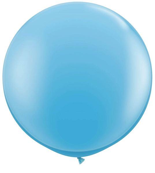 Qualatex Latex-Riesenballon Pale Blue 90cm