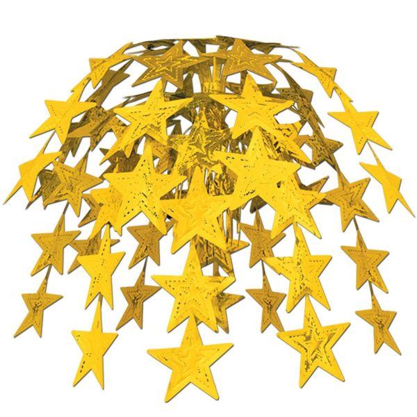 Sternen Hängedekoration Gold