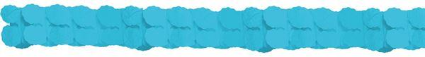 Karibik Blau - Papiergirlande