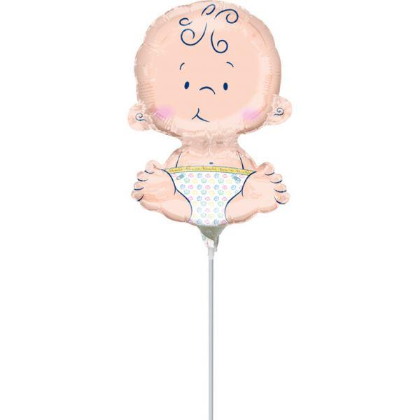 """Folienballon Minishape """"Baby"""" luftbefüllt"""