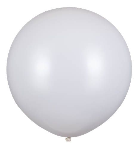 Latexballon Gigant Weiß Ø 80cm