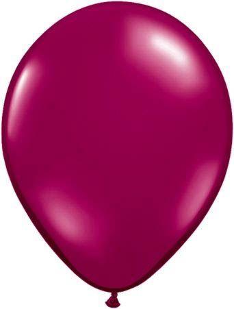 Qualatex Latexballon Sparkling Burgundy Ø 40cm