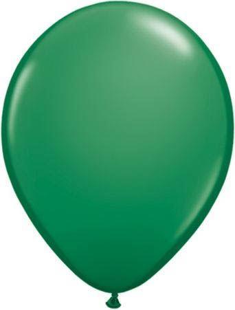 Qualatex Luftballon Grün 13cm