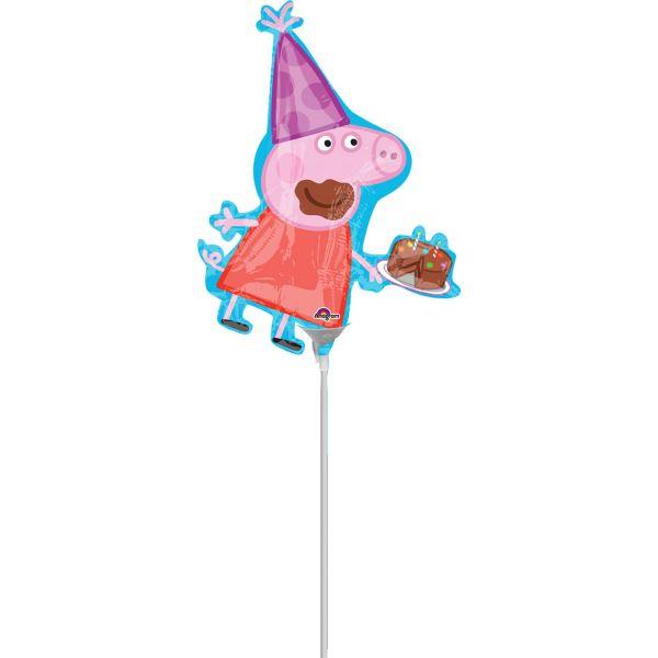 """Folienballon Minishape """"Peppa Wutz"""" luftbefüllt"""