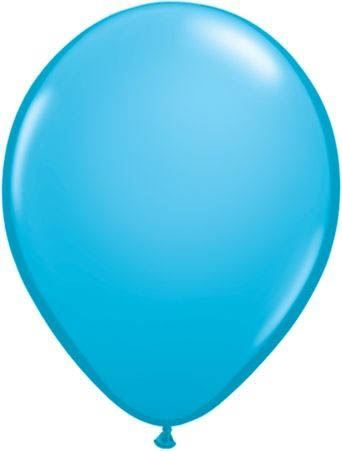 Qualatex Luftballon Hellblau 13cm