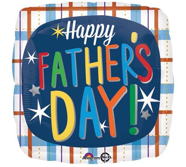 """Folienballon zum Vatertag """"Happy Father's Day"""" 45cm"""