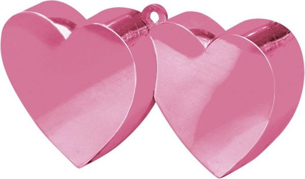 Ballongewicht Herzen Rosa