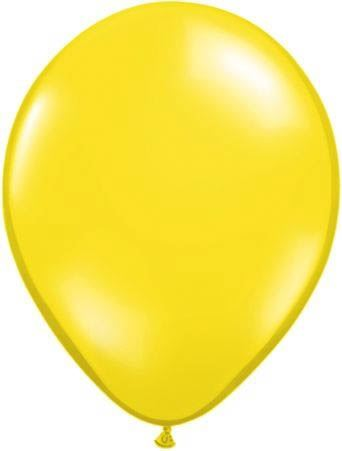 Qualatex Latexballon Citrine Yellow Ø 30cm