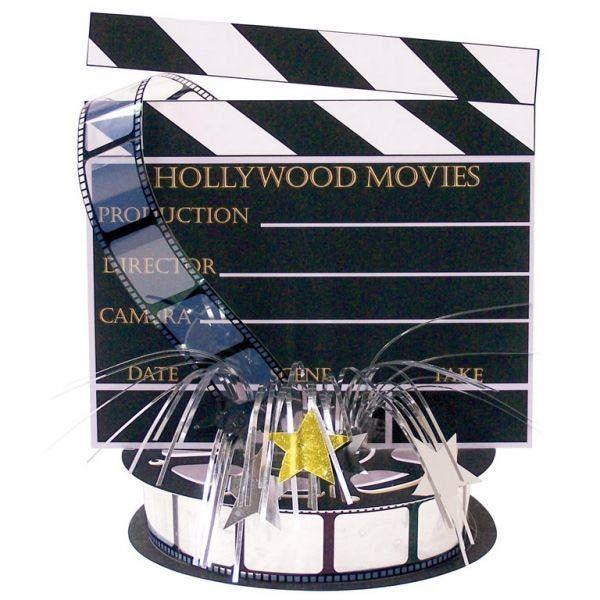 Hollywood - Filmklappe Centerpiece