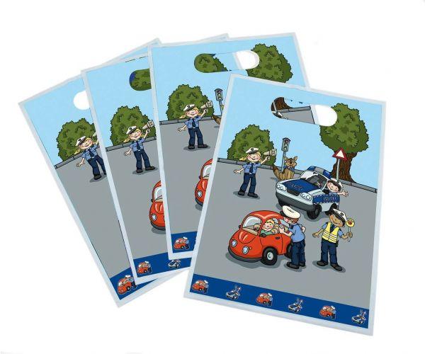 Polizei - 8 Mitgebsel-Tüten