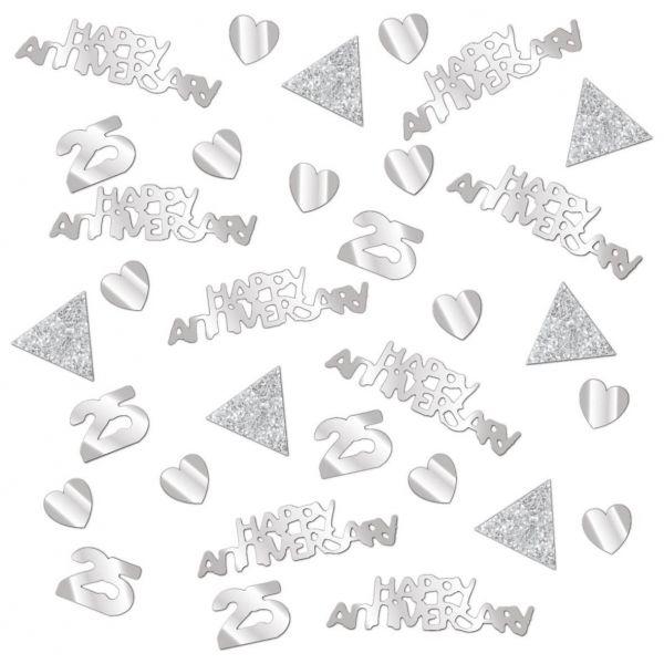 Silberhochzeit - Konfetti