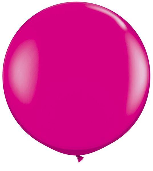 Qualatex Latexballon Gigant Wild Berry Ø 90cm
