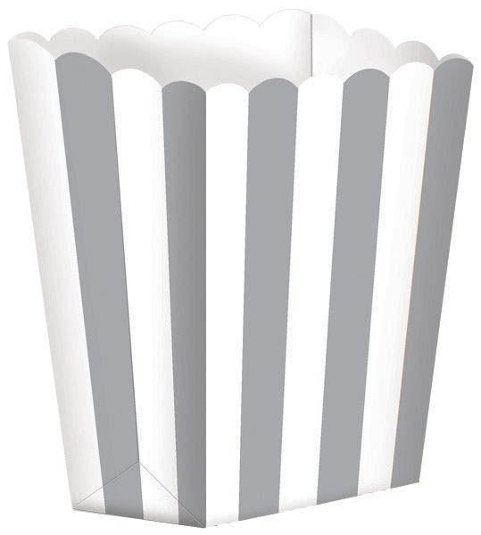 Silber - 5 Popcorn Tüten