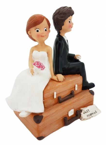 Figur Brautpaar auf Hochzeitsreise