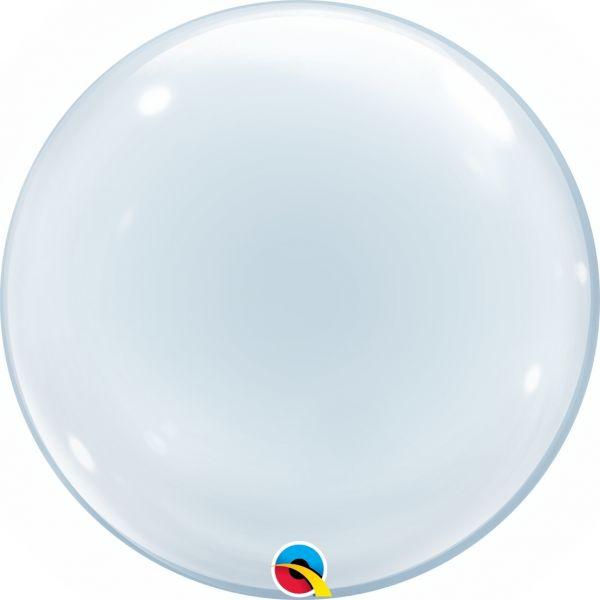 Deko Bubble Ballon Transparent 50 cm