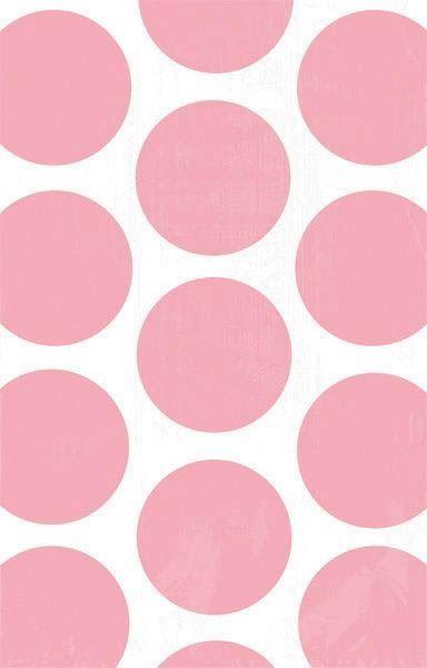 Baby Rosa - 10 Polka Dots Süßigkeiten Papiertüten