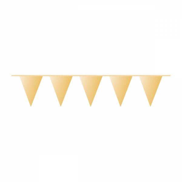 Gold - Wimpelkette