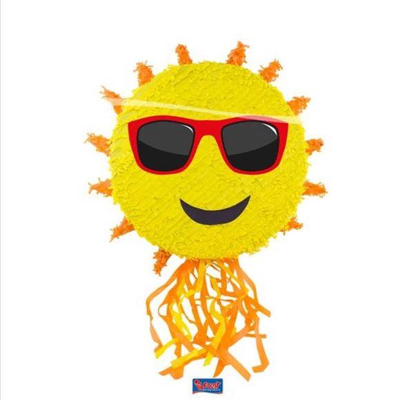 Pinata Sonne mit Sonnenbrille