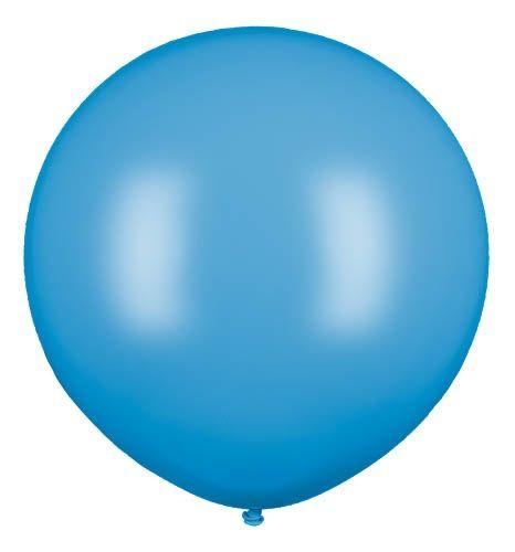 Latexballon Gigant Hellblau Ø 80cm