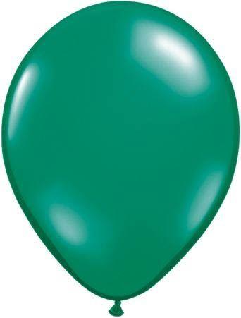 Qualatex Ballon Smaragdgrün 30cm