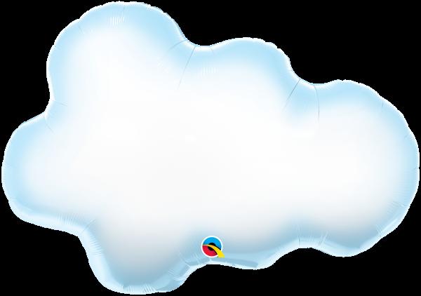 Folienballon Wolke 76cm