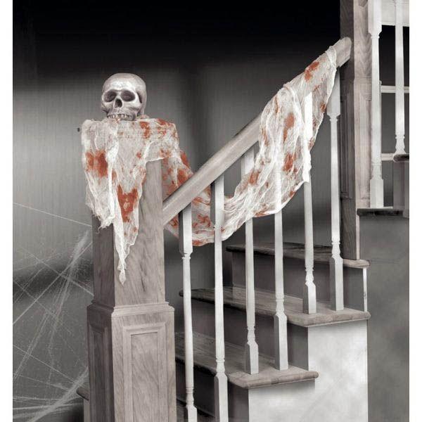 Halloween - Blutiges Netztuch