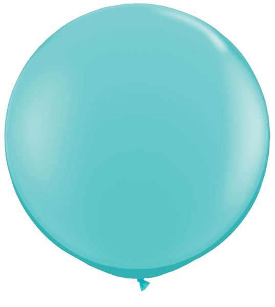 Qualatex Riesenballon Türkisblau 90cm