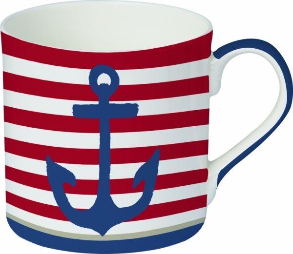 Maritim - Kaffeebecher mit Anker