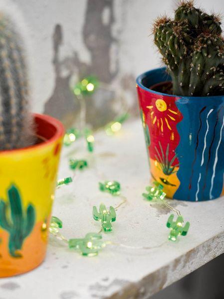 Kuba Fiesta - Mini Kaktus LED-Lichterkette