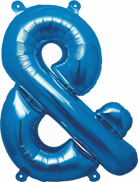 Luftballon Sonderzeichen & Blau 40cm